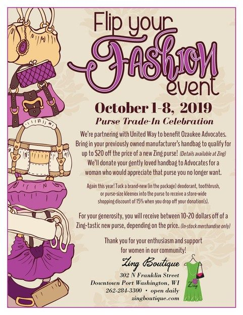 Flip Your Fashion Event