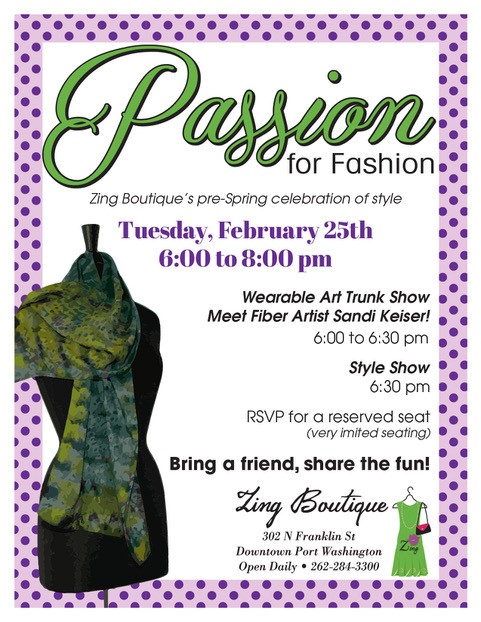 Join us for our Pre-Spring Celebration of Style!